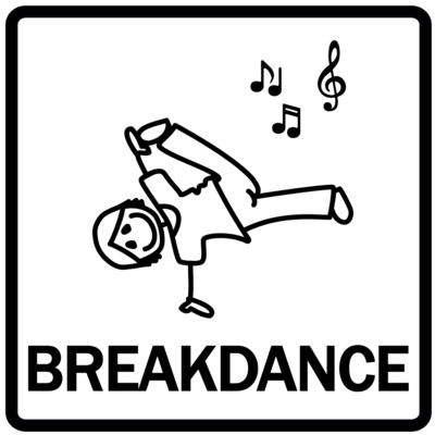 Piktogram - Breakdance