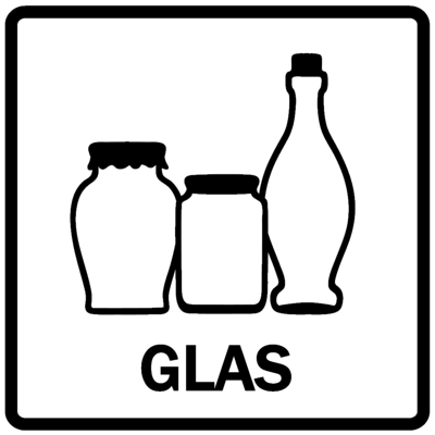 Piktogram - Glas mm