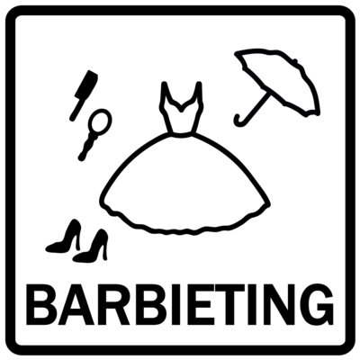 Piktogram - Barbieting
