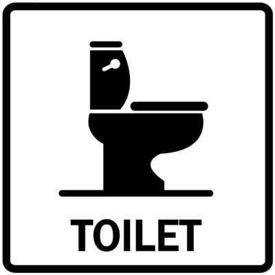 Piktogram - Toilet