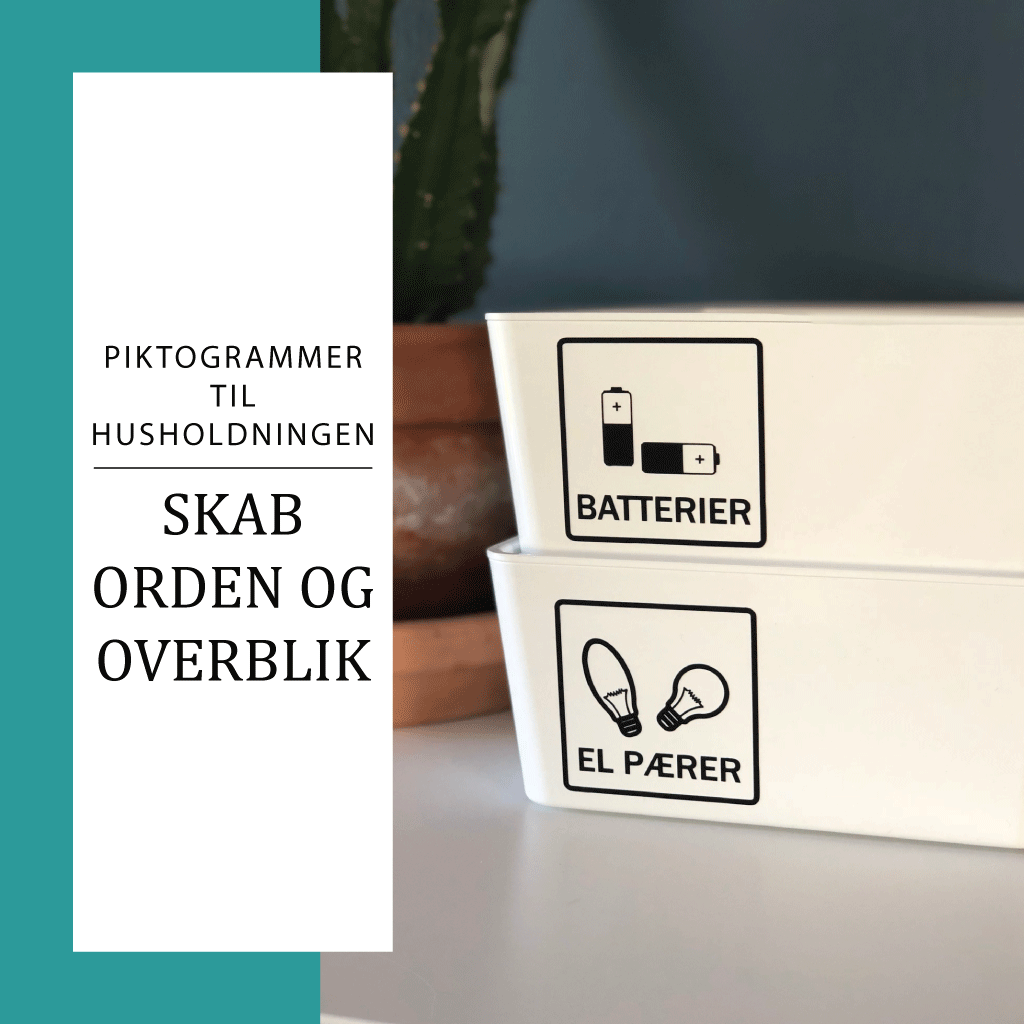 piktogram stickers til husholdningen