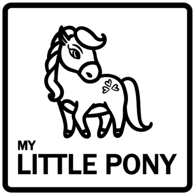 Piktogram - My little pony