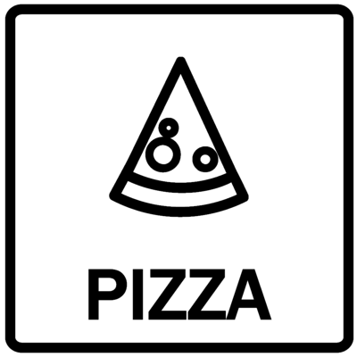 Piktogram - Pizza
